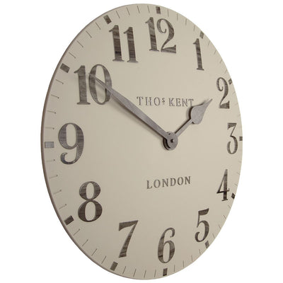 Thomas Kent Arabic Wall Clock Warm Oak 50cm CA20014 1