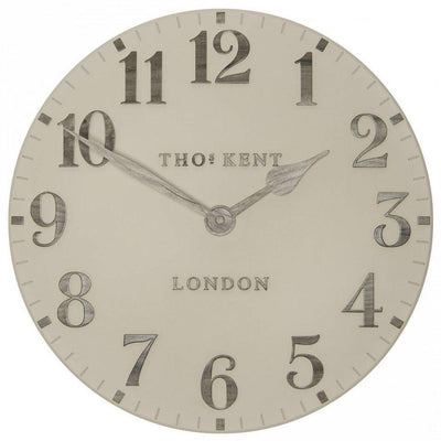 Thomas Kent Arabic Wall Clock Warm Oak 50cm CA20014 3