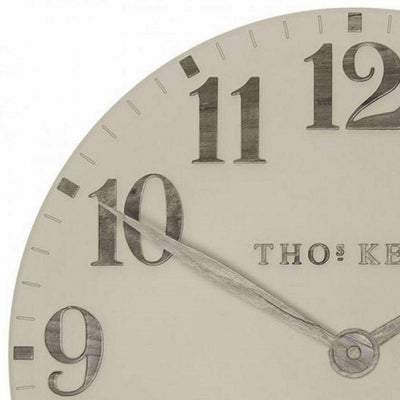 Thomas Kent Arabic Wall Clock Warm Oak 50cm CA20014 5