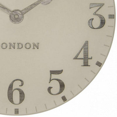 Thomas Kent Arabic Wall Clock Warm Oak 50cm CA20014 6