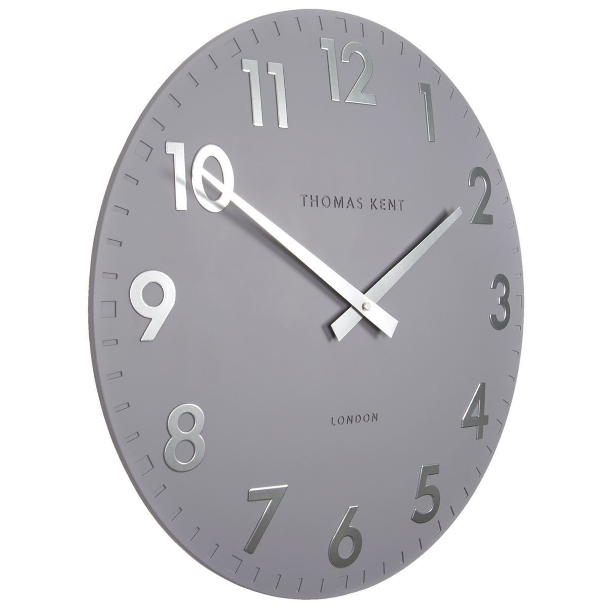 Thomas Kent Camden Wall Clock, Blueberry, 51cm