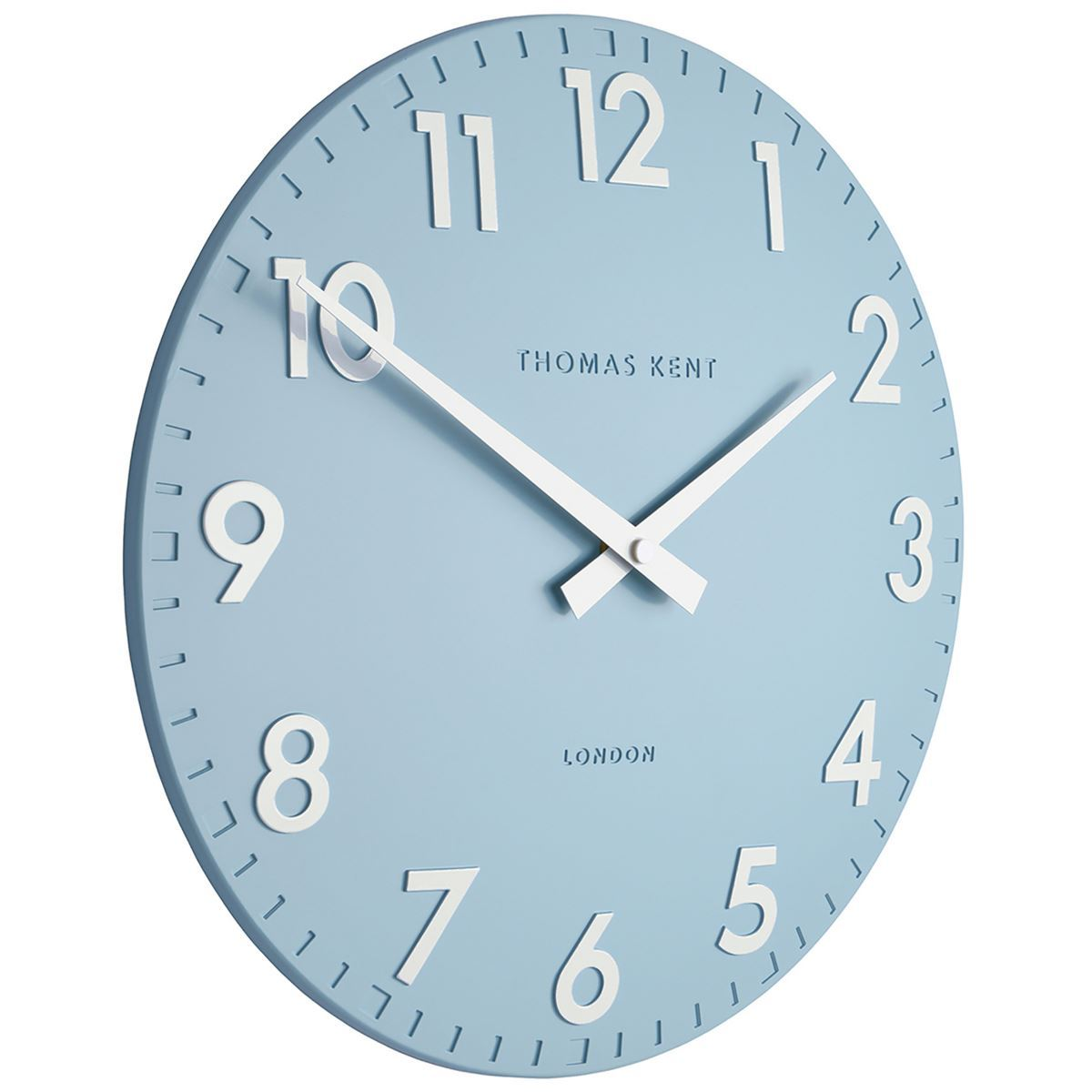 Thomas Kent Camden Wall Clock, Sea Blue, 31cm