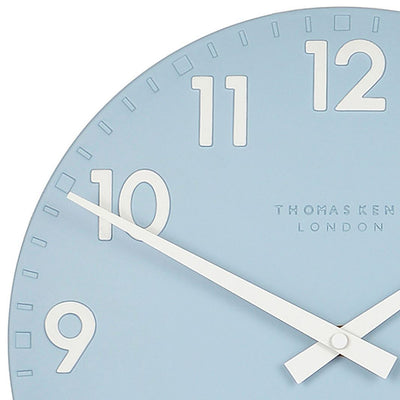 Thomas Kent Camden Wall Clock Sea Blue 31cm CA12208 3