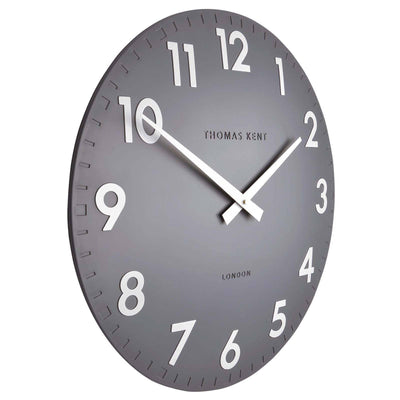 Thomas Kent Camden Wall Clock Slate Grey Angle 51cm KC20112