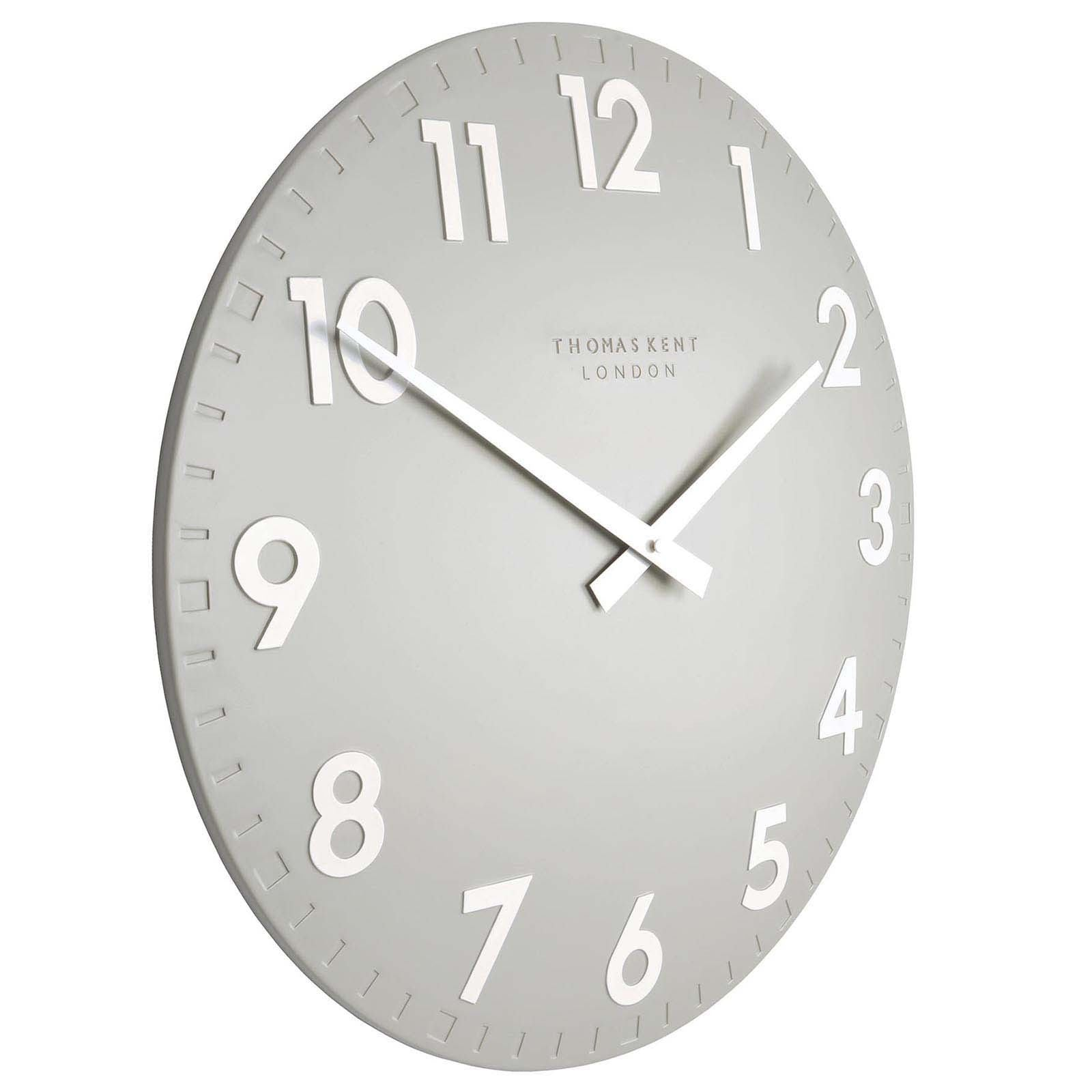 Thomas Kent Camden Wall Clock, Smoke Grey, 51cm
