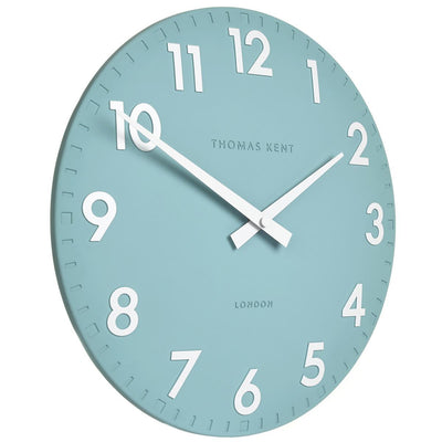 Thomas Kent Camden Wall Clock Teal 31cm CA12206 1