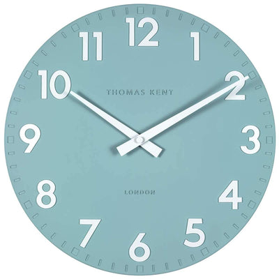 Thomas Kent Camden Wall Clock Teal 31cm CA12206 3