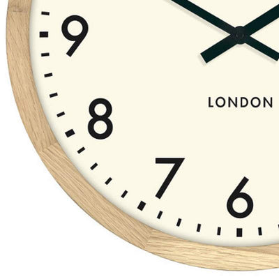 Thomas Kent Clifton Wall Clock Oak 50cm KC1801 3
