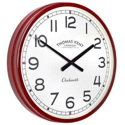 Thomas Kent Clocksmith Wall Clock Red 51cm Angle KC2123