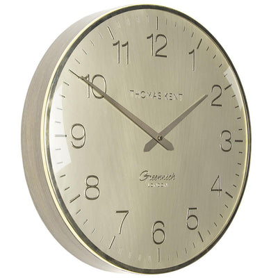 Thomas Kent Greenwich Morning Gold Wall Clock Gold 41cm CA16250 1