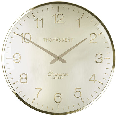 Thomas Kent Greenwich Morning Gold Wall Clock Gold 41cm CA16250 3