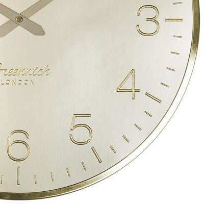 Thomas Kent Greenwich Morning Gold Wall Clock Gold 41cm CA16250 5