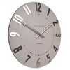 Thomas Kent Mulberry Wall Clock Blush Pink 30cm KC1201 Angle