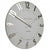 Thomas Kent Mulberry Wall Clock Silver Cloud 50cm KC2053 Angle