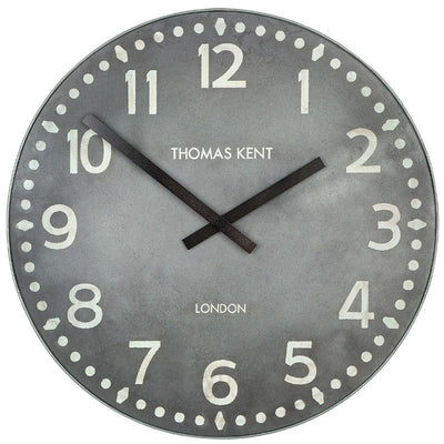 Thomas Kent Wharf Wall Clock Lead 38cm KC1530 1