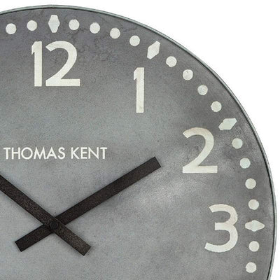 Thomas Kent Wharf Wall Clock Lead 38cm KC1530 2