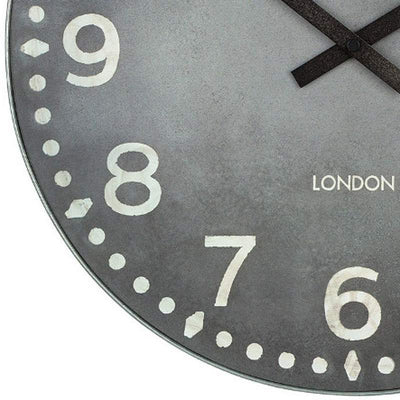 Thomas Kent Wharf Wall Clock Lead 38cm KC1530 3