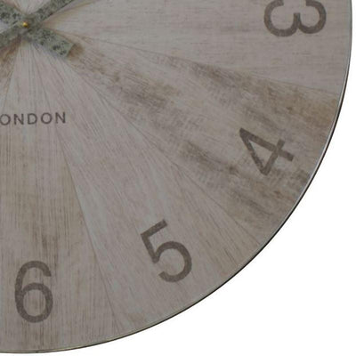 Thomas Kent Wharf Wall Clock Pickled Oak 76cm LCL0159 3