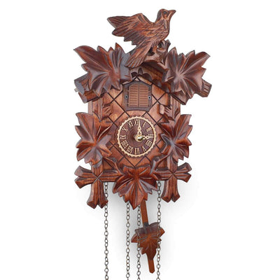 Trenkle Uhren Germany Bird Leaves Quartz Cuckoo Clock 22cm 412Q/22 12