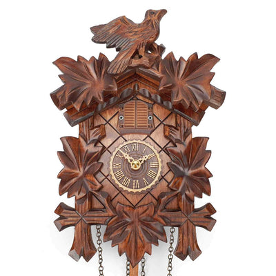 Trenkle Uhren Germany Bird Leaves Quartz Cuckoo Clock 22cm 412Q/22 2