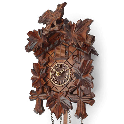 Trenkle Uhren Germany Bird Leaves Quartz Cuckoo Clock 22cm 412Q/22 4