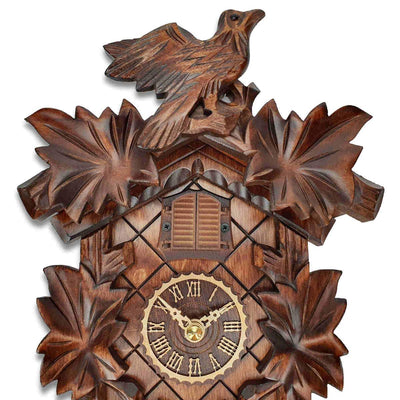 Trenkle Uhren Germany Bird Leaves Quartz Cuckoo Clock 22cm 412Q/22 6