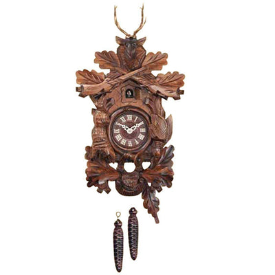 Trenkle Uhren Germany Dear Hunting Scene Quartz Cuckoo Clock, 26cm