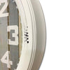 Victory At The Beach Extra Large Vintage Metal Wall Clock White 62cm CHH 322 3