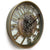 Victory Dionysus Metal Moving Gears Wall Clock 59cm CCM-1733 2