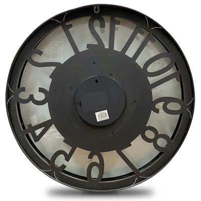 Victory Dionysus Metal Moving Gears Wall Clock 59cm CCM-1733 9