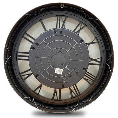 Heracles Gold Luxurious Moving Gears Wall Clock, 60cm