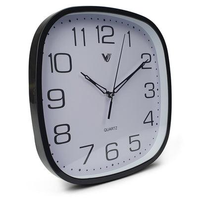 Victory Isaac Wall Clock Black 25cm CWH 6559Black 1