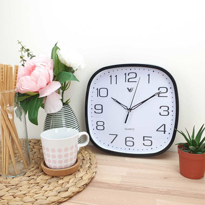 Victory Isaac Wall Clock Black 25cm CWH 6559Black 2