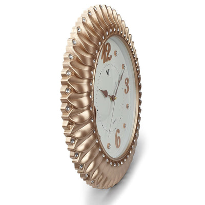Victory Savannah Bling Wall Clock Gold 45cm CXB 2928G 4