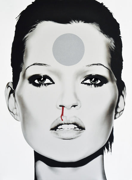 'Kate Moss (Fallen to Earth)' Limited Edition Fine Art Print