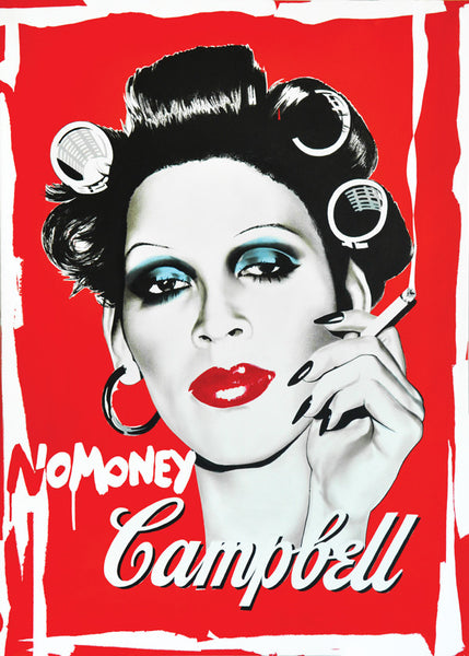 'NoMoney Campbell' Limited Edition Fine Art Print