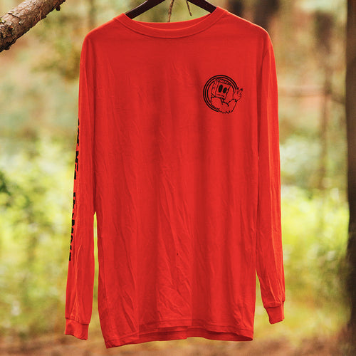 Sludge L/S Mens Watermelon Red