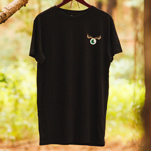 Eye-Deer Tee Mens Black