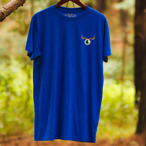 Eye-Deer Tee Mens Powder Blue