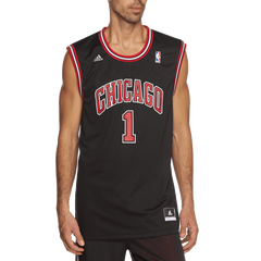ADIDAS Chicago Bulls Derrick Rose Replica Basketball Jersey