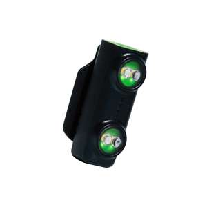 Classic green and black Million Mile Light White LED running safety light