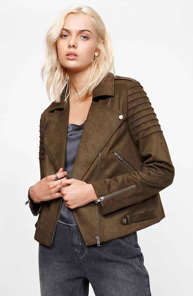 Everyday Suede Jacket