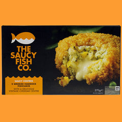 2 SMOKED HADDOCK FISHCAKES