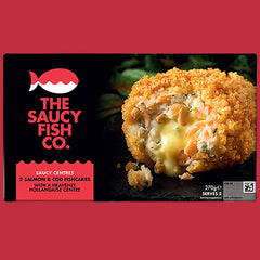 2 SALMON & COD FISHCAKES