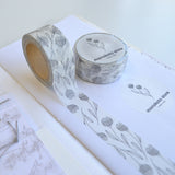 monokoto washi tape lace flower