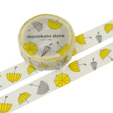monokoto store washi tape umbrella