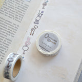 monokoto store washi tape keys