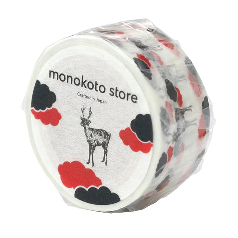 monokoto store; Washi Tape Deer -made in Japan
