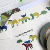monokoto store washi tape Animals