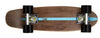 "Ridge 22"" Maple Wood Mini Cruiser Board: Number Two Dark Dye with 12 wheel colours"